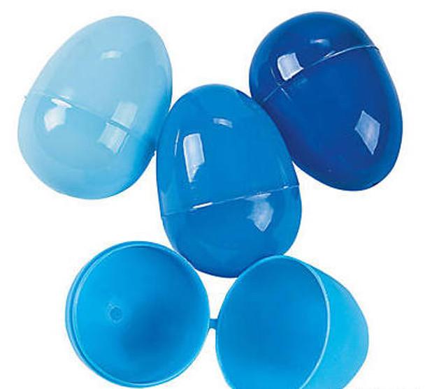 Bulk 144 PCS Blue Easter Eggs 1863BL
