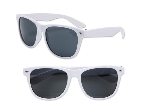 Kids Sunglasses White Iconic 80's Sunglasses | 100% UV 400 12 PACK 13004