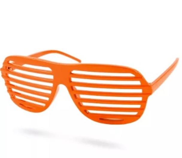 Orange Shutter Shades 12 PACK WS1164O
