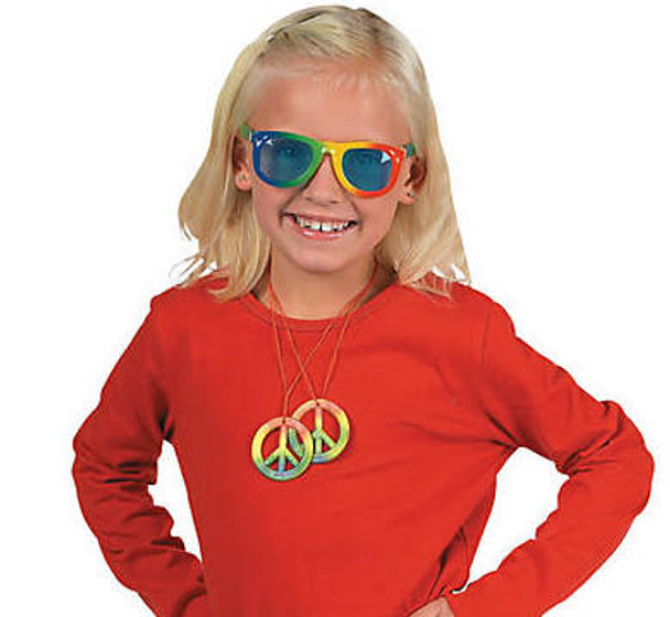 Kids Rainbow Sunglasses 12 PACK  Party Favor Quality Ages 3-9   385
