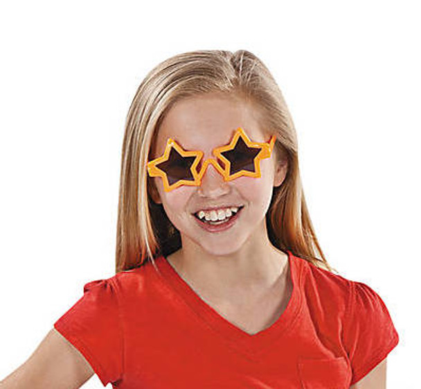 Kids Star Sunglasses 12 PACK Mixed Colors Party Favor Quality Ages 3-9 | 393