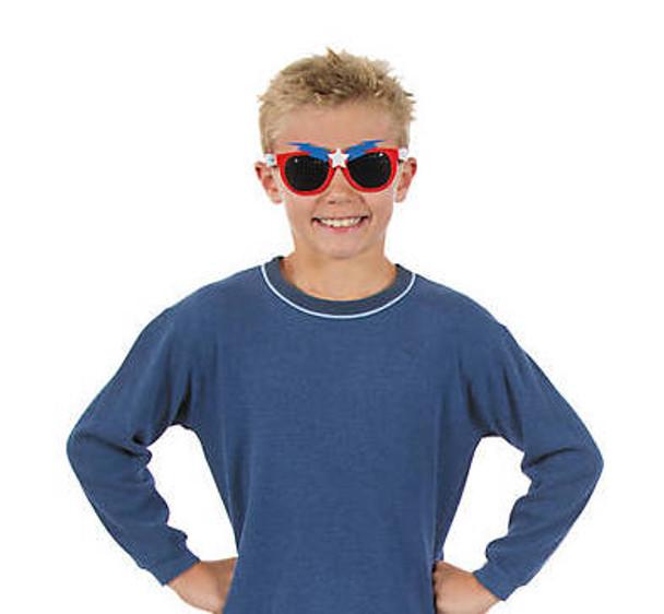 Kids Superhero Boys Sunglasses 12 PACK Mixed Colors Ages 3-9 | 394