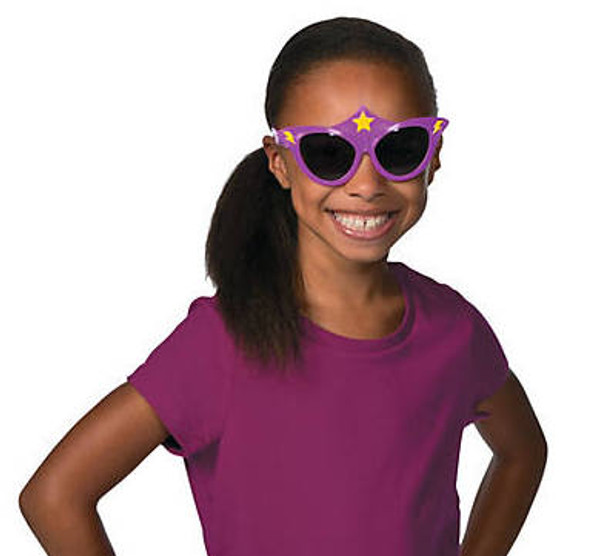 Kids Superhero Girls Sunglasses 12 PACK Mixed Colors Ages 3-9   395