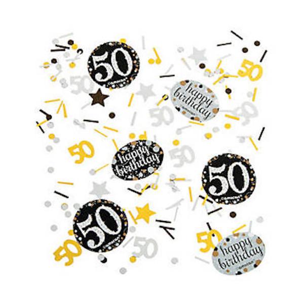 50's Birthday Celebration Confetti 38190