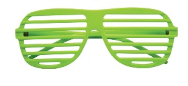 Lime Green Shutter Shades 1158L 12 PACK