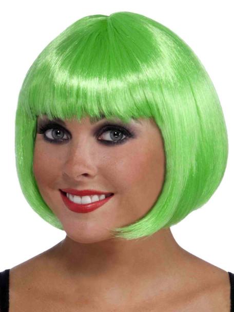 Straight Short Green Bob Wig 6062S