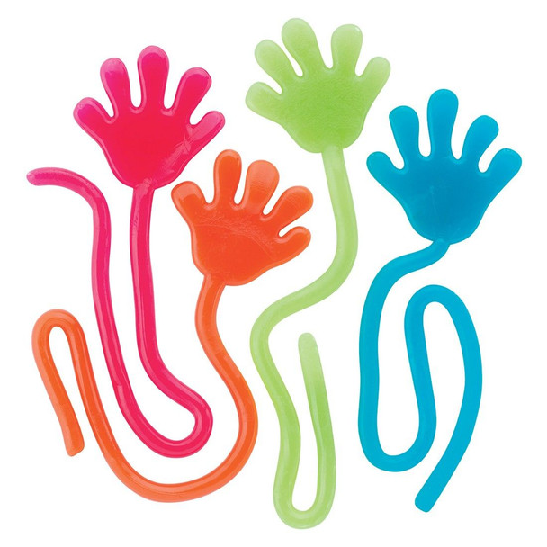 Party Favor Set | Sticky Hands 92197PS 72 PACK