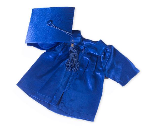 Preschool Kindergarten Graduation Gown and Cap Blue Set  | 1495