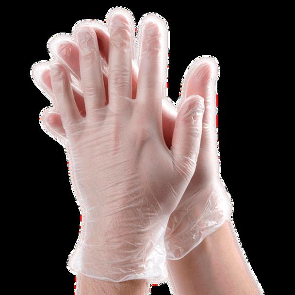 Bulk Vinyl Gloves   100 PACK Disposable Gloves Powder Free SHIPS TODAY  15035V