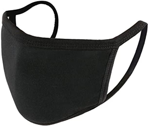 Custom Face Masks | 100% Cotton Adult Size 10+ Colors Double Layer Soft Cotton Elastic Ear Straps No Minimum