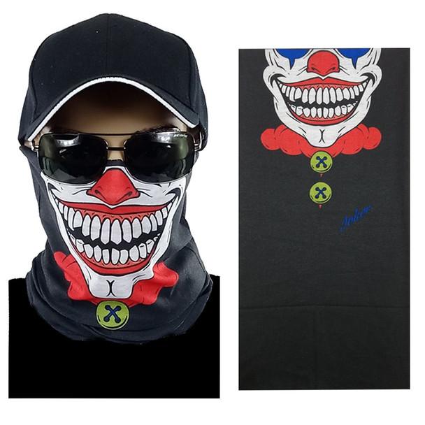 Mad Clown Multi-function Seamless Tube Bandana 12 PACK 700MC