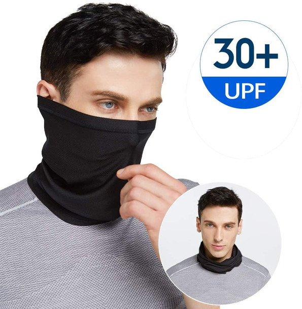 "Performance Activity Mask | Neck Gaiter  18"" L by 10 W"" Large Size Standard"