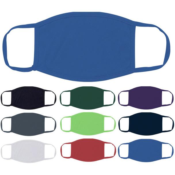 Orange Face Masks Cotton |  12 PACK | Adult Size Double Ply Soft Cotton 134O