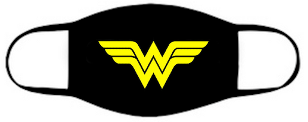 Wonder Woman Face Mask  |  Cotton Face Mask | Adult Double Ply Soft Cotton