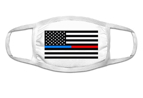 Fire Department Lives Matter Face Mask  | Adult Double Ply Soft Cotton 763FD