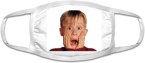 Macaulay Culkin Mask  |  Macaulay Culkin Face Mask | Adult Double Ply Soft Cotton