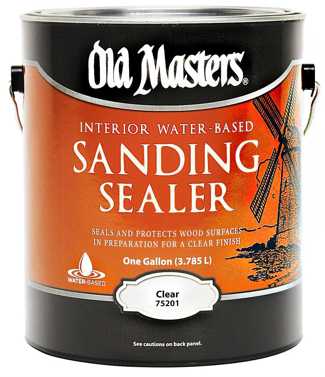 Old Masters Interior Oil Based Sanding Sealer Gallon   Premier Paint U0026  Wallpaper