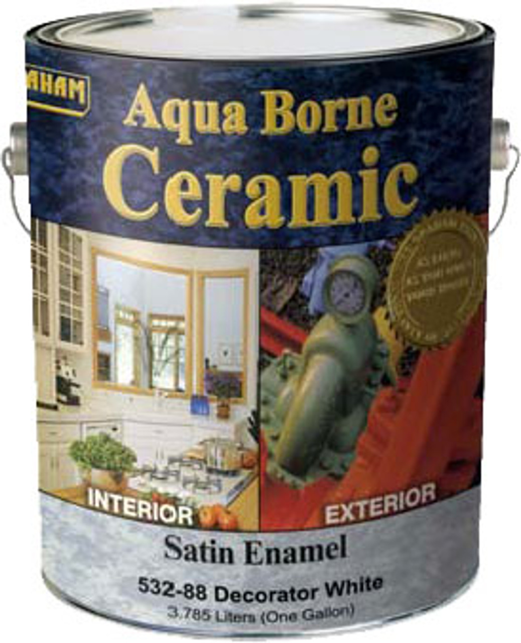 California Paints Aqua Borne Ceramic Satin Enamel (Formally Graham