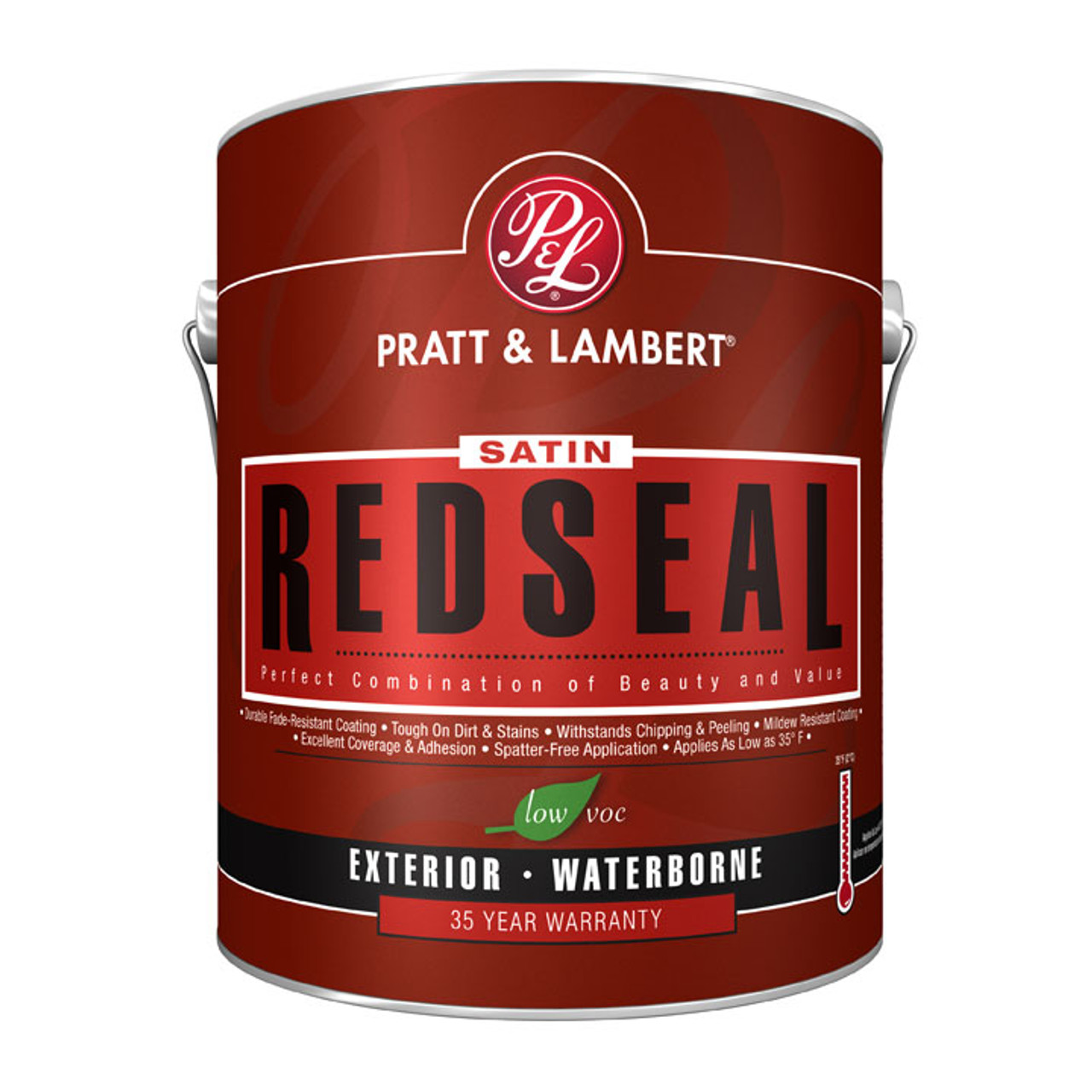 Pratt Amp Lambert Redseal Exterior Latex Satin House Amp Trim