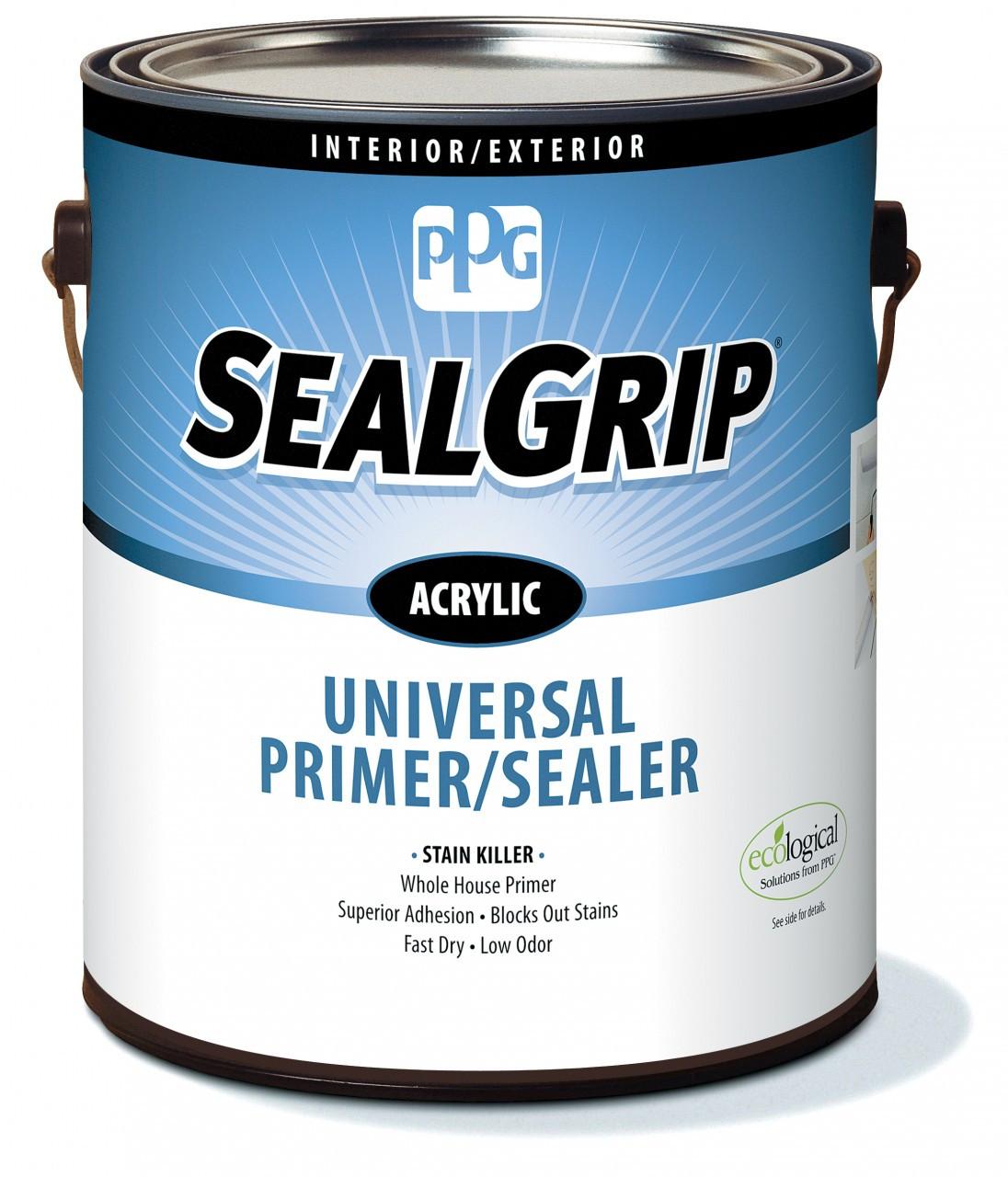 Ppg Seal Grip Interior Exterior Acrylic Universal Primer Sealer Gallon