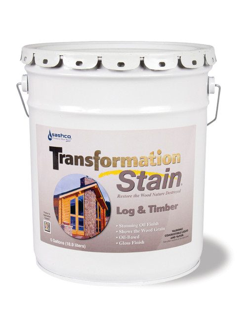 Sashco Transformation Log & Timber 5 Gallons