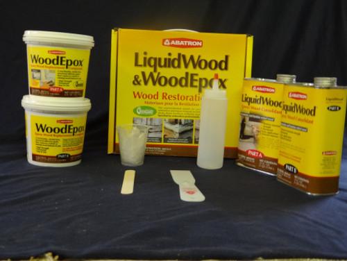 Abatron Wood Restoration Kit (Four Quart)