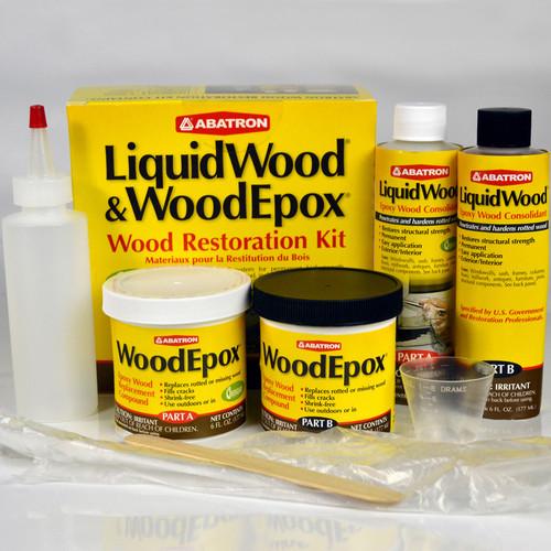 Abatron Wood Restoration Kit 24 Ounce Premier Paint