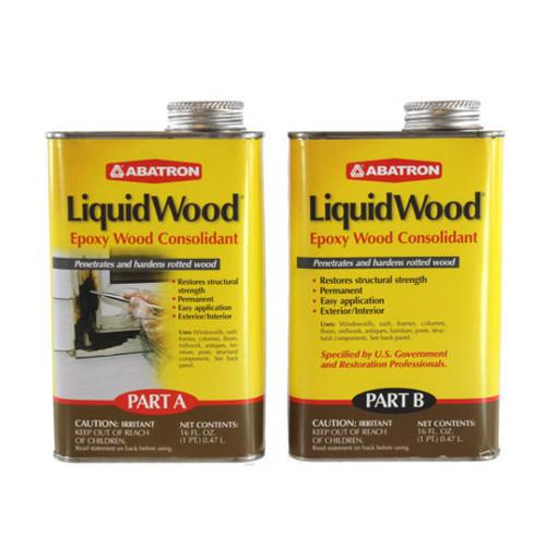 Abatron Liquid Wood Epoxy Wood Consolidant (2 Pints)