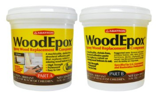 Abatron WoodEpox Epoxy Wood Replacement Compound (2 Pints)