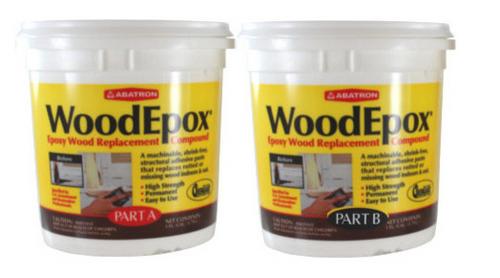 Abatron WoodEpox Epoxy Wood Replacement Compound (2 Gallons)