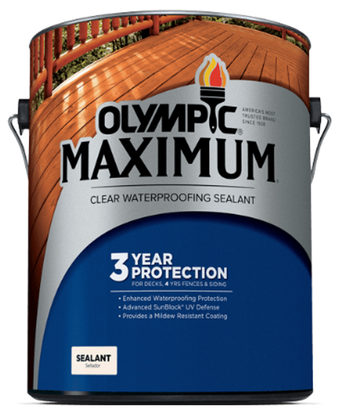 Olympic Maximum Clear Waterproofing Sealant Gallon
