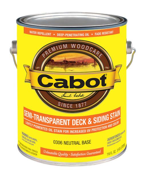 Cabot Semi-Transparent Deck & Siding Stain Gallon