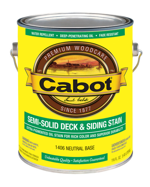 Cabot Semi-Solid Deck & Siding Stain Gallon