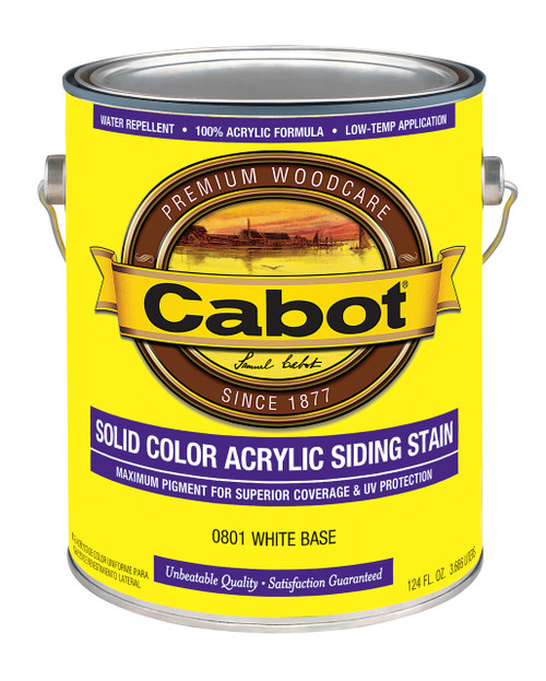 Cabot Solid Color Acrylic Siding Stain Gallon