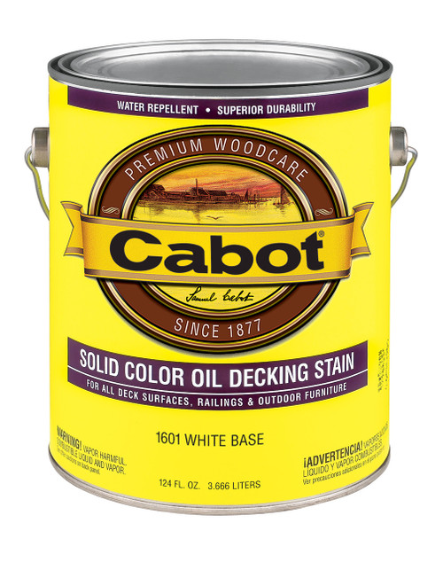 Cabot Solid Color Oil Decking Stain Gallon