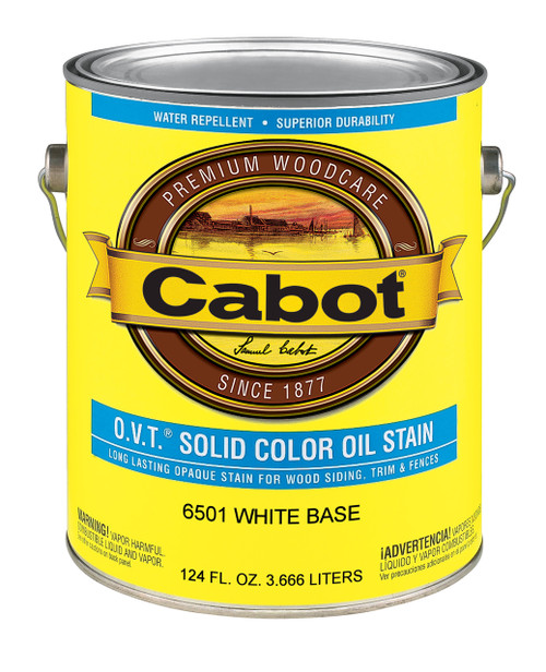 Cabot O.V.T. Solid Color Oil Stain Gallon