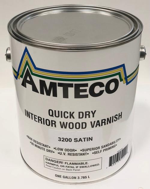 Amteco Quick Dry Interior Wood Varnish Gallon