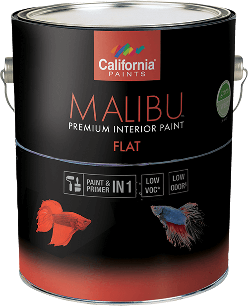 California Malibu Interior Flat  (Formerly Muralo Breathe Safe) Gallon