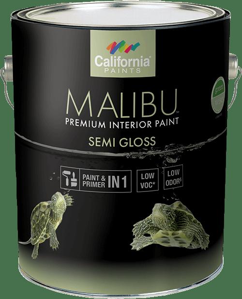 California Malibu Interior Semi-Gloss  (Formerly Muralo Breathe Safe) Gallon