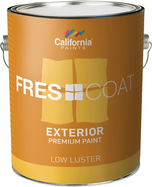 California Fres-Coat Exterior Low Luster  Gallon