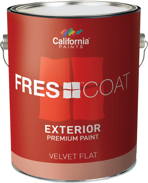 California Fres-Coat Exterior Velvet Flat  Gallon