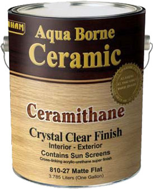 FixAll Aqua Borne Ceramithane Clear Finish (Formally Graham) Gallon