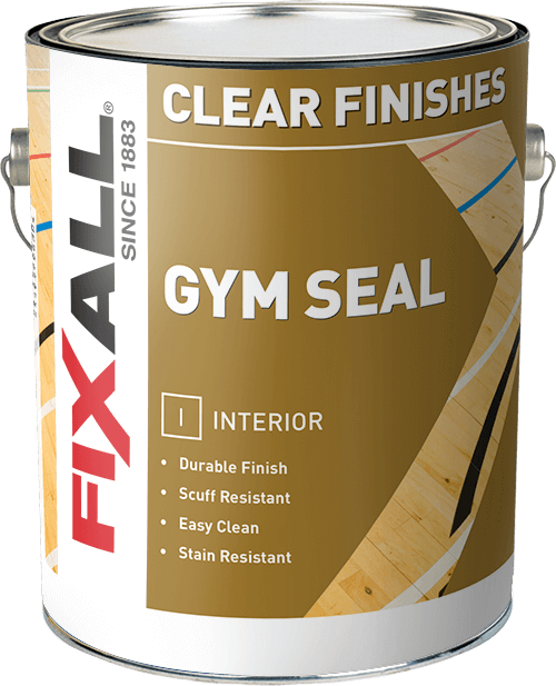 FIXALL Interior Clear Gym Seal Gloss Gallon