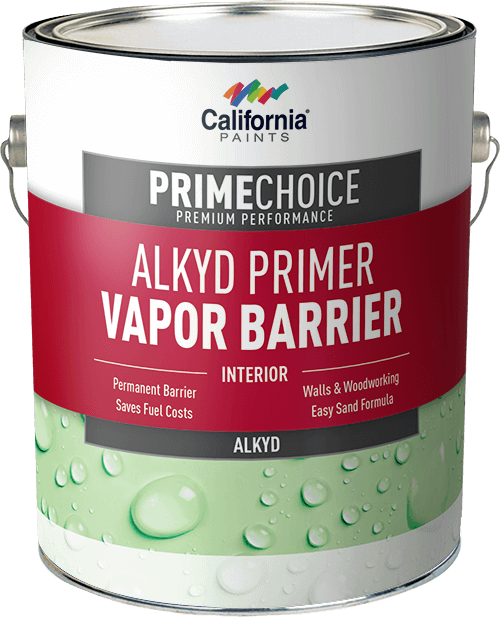 California PRIMECHOICE Interior Alkyd Primer Vapor Barrier Gallon