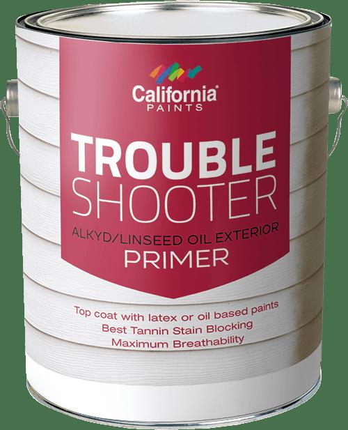 California Trouble Shooter Exterior Linseed Primer Gallon