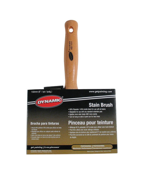 "Dynamic 6"" Stain Brush"