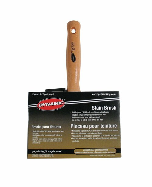 "Dynamic 6"" Stain Brush"