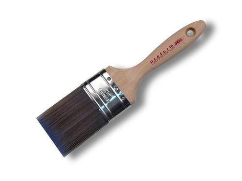 "Proform Oval Stiff Brush  2.5"" Contractor Latex"