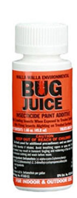 Bug Juice Insecticide Paint Additive  (For 1 Gallon)