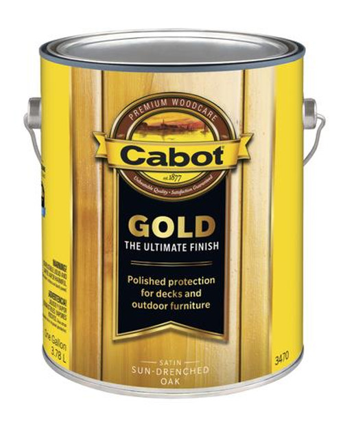 Cabot Gold Satin Sun-Drenched Oak Gallon